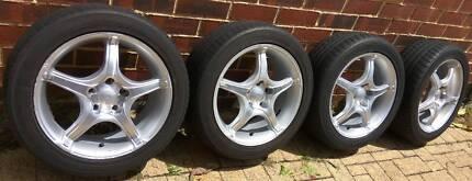 "16"" Advanti Wheels (PCD): 5x110, SAAB, Holden and Alfa Romeo"