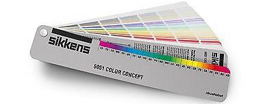 Sikkens 5051 Color Concept Farbkarte 2079 Farbtöne Farbfächer Farbfinder