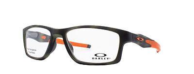 Oakley Crosslink MNP RX Eyeglasses OX8090-0755 Green Tortoise Frame [55-17-137]