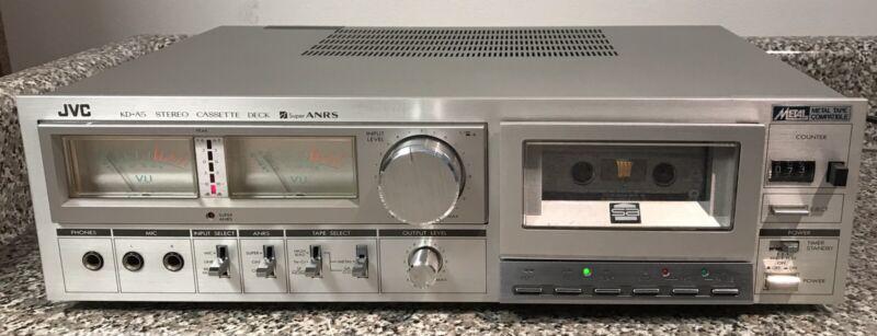 JVC Model KD-A5 Cassette Tape Deck.