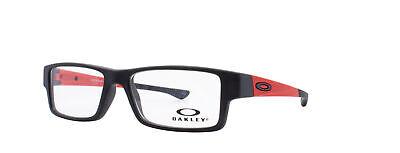 Oakley Airdrop XS RX Eyeglasses OY8003-1048 Satin Black / Redline [48-14-128]