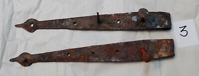 Antique Hand-wrought Iron Strap Hinge #3