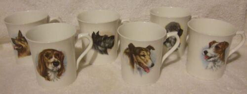 Bone China Mugs Dogs England
