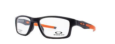 Oakley Crosslink MNP RX Eyeglasses OX8090-0153 Satin Black Frame [53-17-137]
