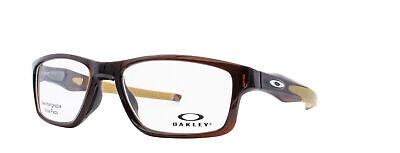 Oakley Crosslink MNP RX Eyeglasses OX8090-0453 Polished Rootbeer [53-17-137]