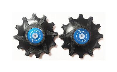 BBB RollerBoys Jockey Wheels - Sram 12T Black - BDP-06