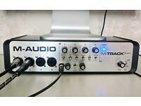 M-Track QUAD - USB audio recording interface
