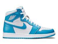 Nike Air Jordan 1 Retro High OG 'UNC' Size UK 5 6 9.5 10 Brand New