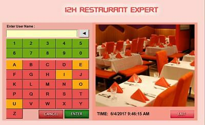 Restaurant Pos Touch Screen Software  Download Link Only