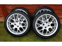 """4x100 16"""" set of alloys. Fits most 4 stud Vauxhalls and more."""