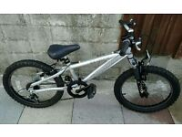 "Saracen Hoax 20"" Bike With Suspension And Gears"