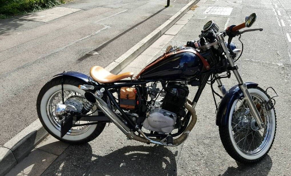 honda rebel 125 jolly bobber in winterbourne bristol gumtree. Black Bedroom Furniture Sets. Home Design Ideas