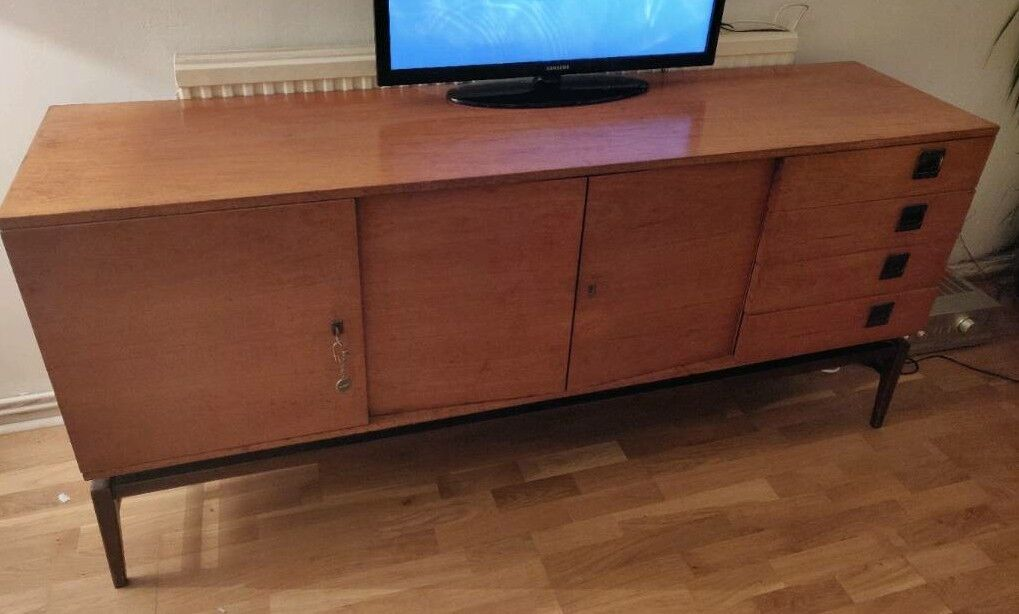 Vintage Console Wooden Drinks Cabinet Tv Stand In Forest Hill London Gumtree