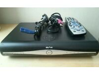 3 D Digital Sky HD box complete with remote control HDMI cable