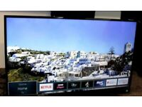 "43"" TOSHIBA SMART 4K ULTRA HD WIFI TV CAN DELIVER"
