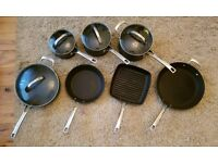 Set of 7 Raymond Blanc by Anolon Professional pans