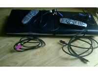 2 sky+HD boxes with wires and remotes
