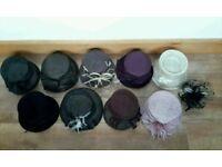 Bargain! Wedding hats and fascinator