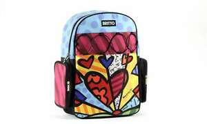 GIFTCRAFT-ROMERO-BRITTO-MICROFIBER-BACKPACK-A-NEW-DAY-HEART