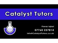 Maths and Science Tutoring OFSTED registered Catalyst Tutors