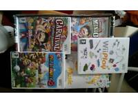 Nintendo Wii games Mario party 8 wii play wii music carnival mini golf carnival funfair games