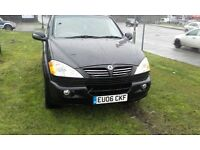06 Plate Ssangyong KYRON Jeep £1195