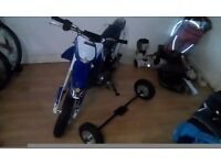 TTR 50 SEMI AUTOMATIC MOTORBIKE, 3GEARS ELECTRIC START EXCELENT RUNNER, LIKE NEW ONLY USED 3 TIMES