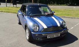****MINI ONE CONVERTIBLE 1.6 ***ONLY 32800 miles*** STUNNING LOOKS***