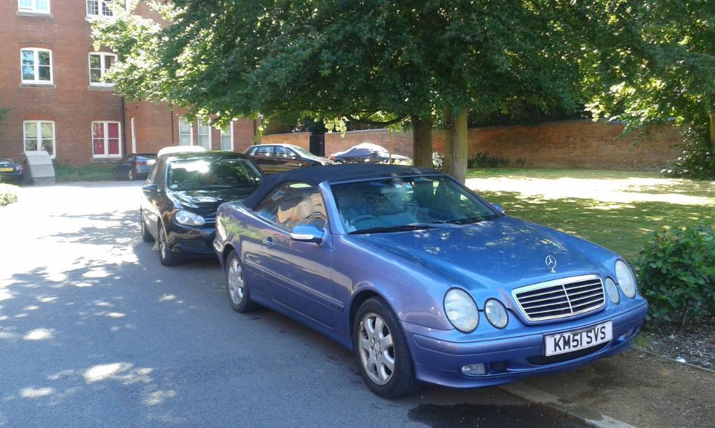 Mercedes Benz Advantage Convertable In Cholsey