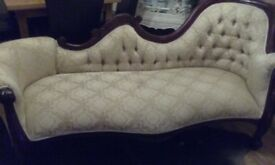 FRENCH LOUIS CHAISE (REDUCED)