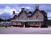 COUPLE/2 FRIENDS REQUIRED - KP and General assistant for award winning Highland Hotel
