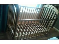 Cot bed in excellent condition.