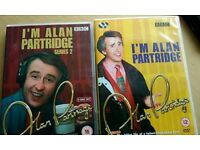Alan partridge, series 1 and 2