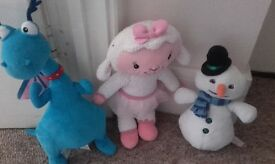 doc mcstuffin character soft toys