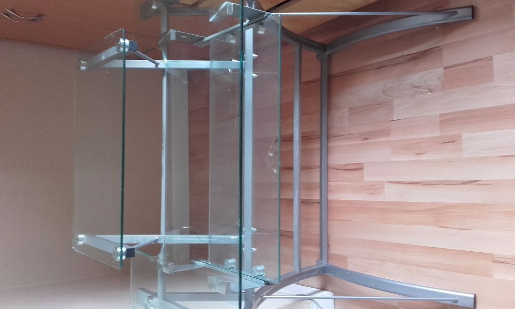 Glass Computer Desk 163 30 In East Calder West Lothian