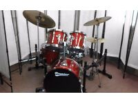 Retired drum teacher has a Premier 'XPK' 'Fusion' drum kit for sale.
