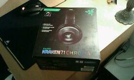 Razer Kraken chroma 7.1 , Boxed in excellent condition