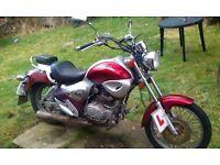 125 motorbike £500-£600