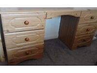 Pine dressing table in excellent condition. Price reduced for quick sale.