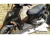 63 reg piaggio typhoon in absolute immaculate condition