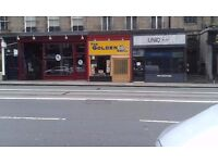 Lease for Sale, Cafe, Edinburgh (Has equipment for takeaway)