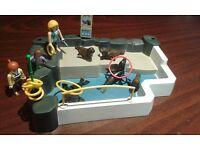 Playmobil seal lion enclosure