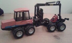Various Diecast & Plastic Tractors