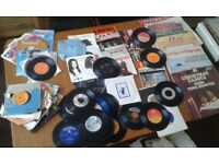 LARGE COLLECTION OF RECORDS INCLUDING. BOXED COLLECTIONS, LPs, EPs, SINGLES. VARIOUS GENRES