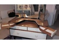 vintage dressing table ideal.shabby chic project
