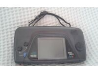 Black Sega Game Gear Console (Retro/Vintage) Fully Working (Only £25)