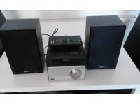 Sony Mini Hi-Fi Home System - 2 Speakers - Excellent Cond.