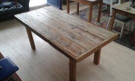Vintage dining room table