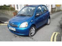 Toyota yaris 1.3 5 door