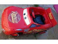 Lightning Mcqueen ride-in car